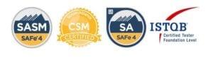 SASM - CSM - SA - ISTQB